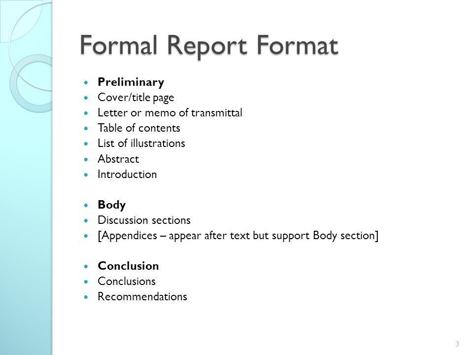... Layout Of A Formal Report Sample Formal Report 10 Documents In   Formal  Report Template Word ...  Formal Report Format Sample