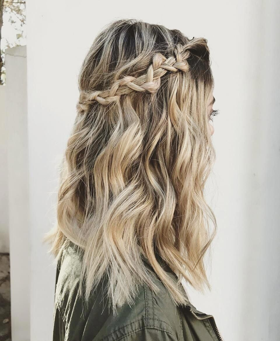 "Add a quick fuss-free braid using your front strands + pin it back for a fab boho look. <a class=""pintag"" href=""/explore/Easyhairstyles/"" title=""#Easyhairstyles explore Pinterest"">#Easyhairstyles</a><p><a href=""http://www.homeinteriordesign.org/2018/02/short-guide-to-interior-decoration.html"">Short guide to interior decoration</a></p>"