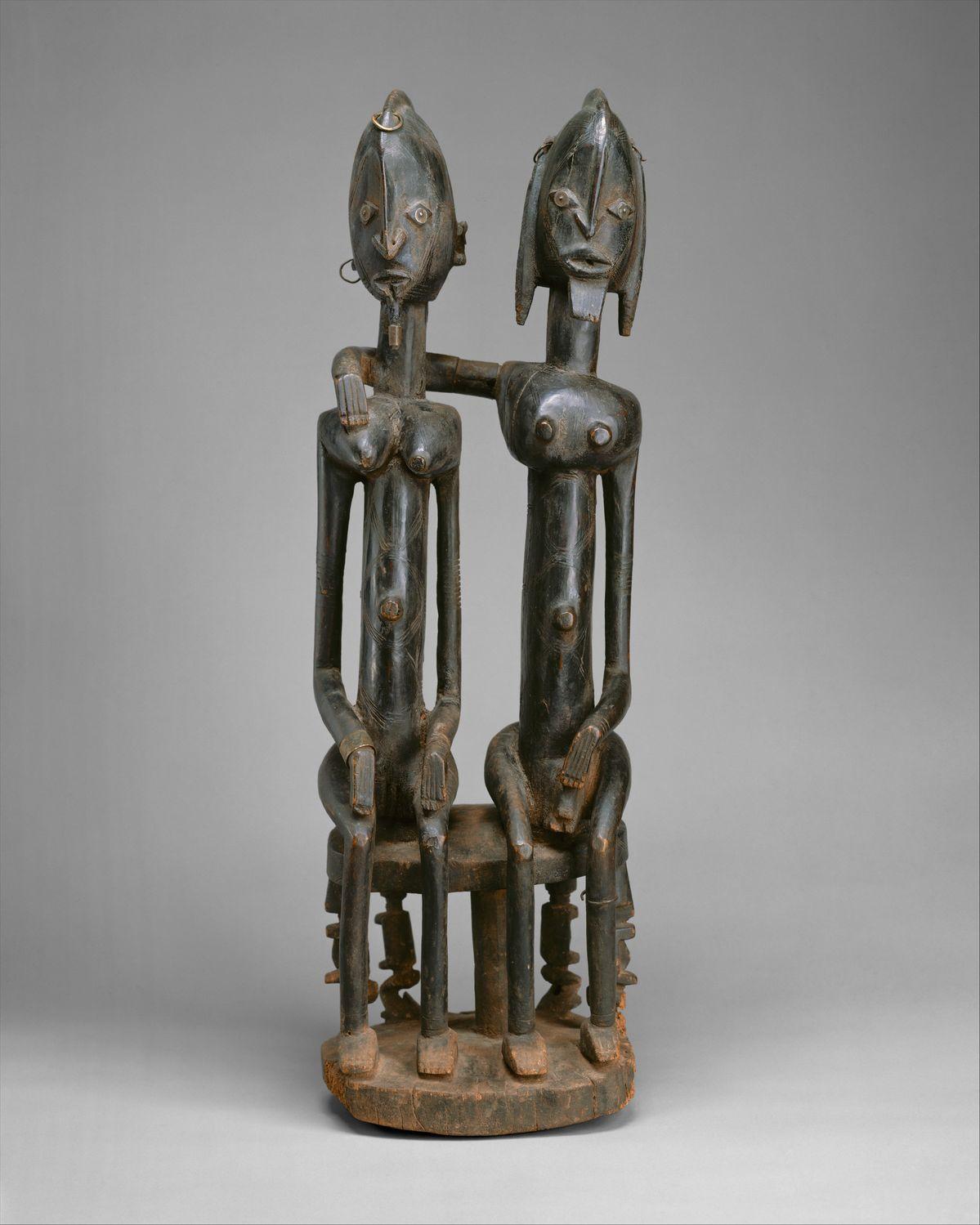 Figure: Seated Couple