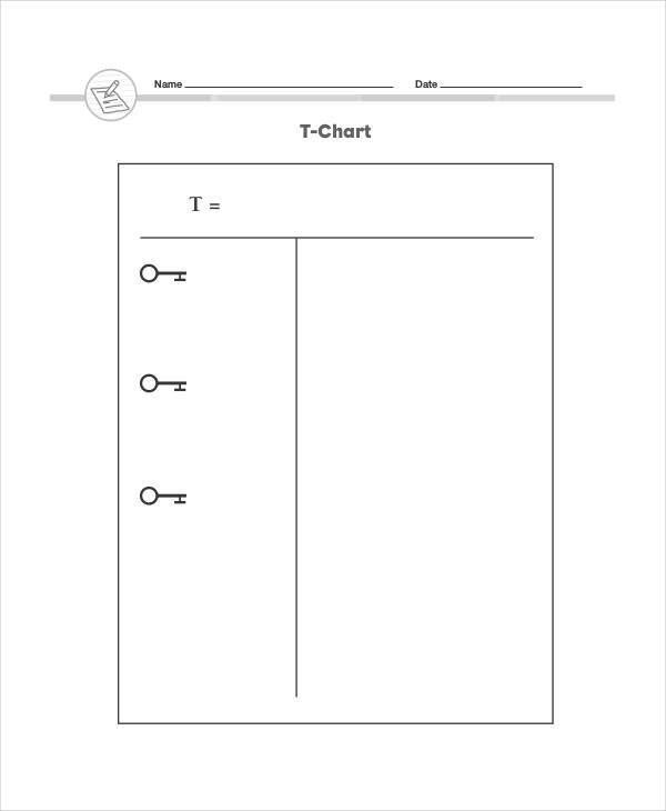 Printable T Chart Image Template Free With Lines In Wedding Seating