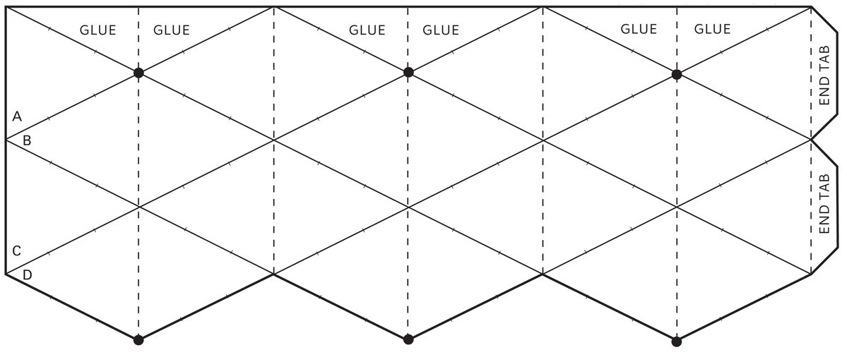 Flextangles template template google 3066 1312 kaleidocycle templates