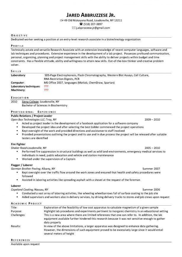 Lab Manager Resume Top 8 Lab Manager Resume Samples 1 - lab manager resume