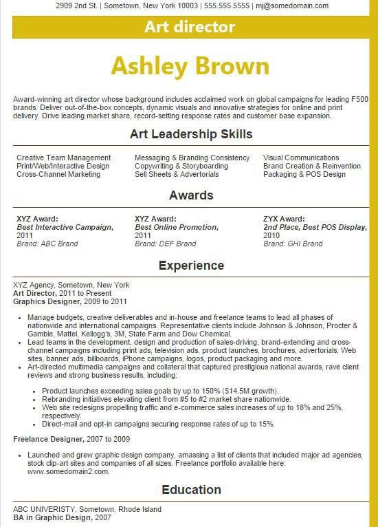 Award Winning Resume Examples Executive Resume Writer Laura Smith