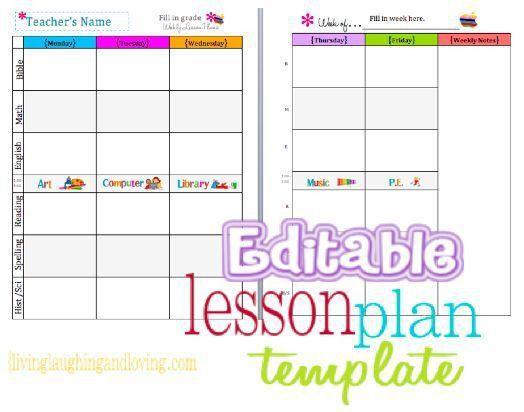 Free Lesson Plan Templates Best 25 Lesson Plan Templates Ideas On - art lesson plans template