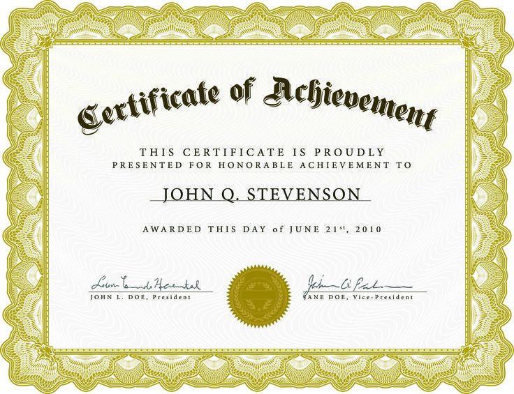 Anniversary Certificate Templates