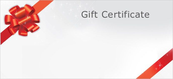 Gift Certificate Free Templates Custom Gift Certificate Templates - free template gift certificate