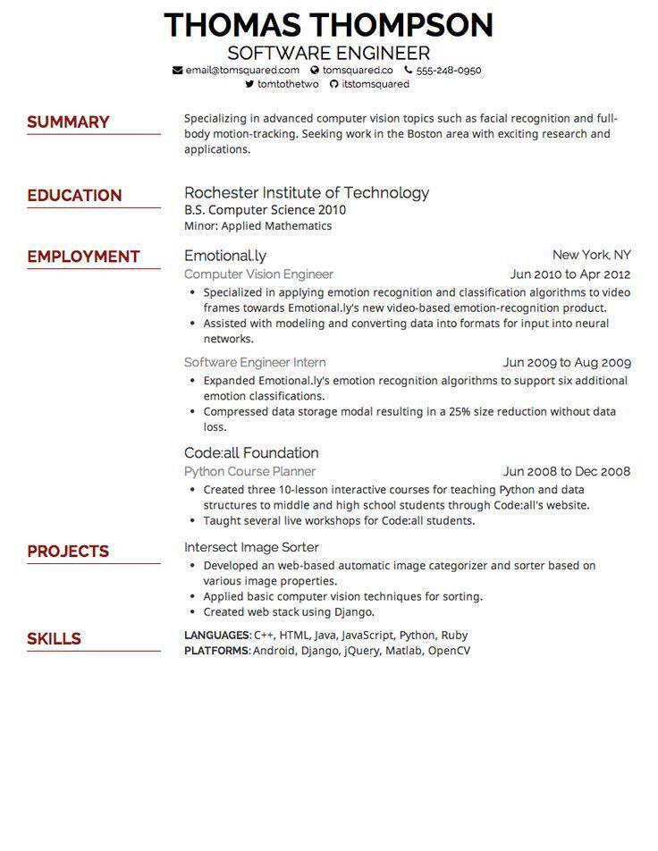 Free Resume Fonts Geometric Font For Professional Free Resume - best resume fonts
