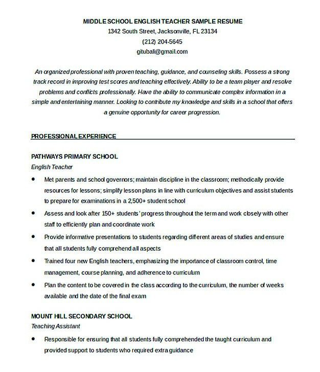 english tutor sample resume english tutor resume sample resume - English Tutor Sample Resume