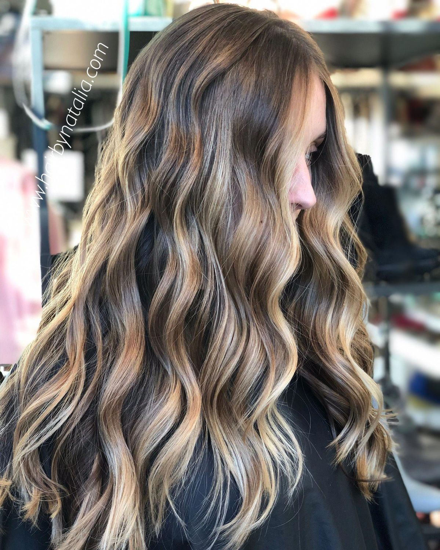 Brunette Balayage #brunettebalayagehair