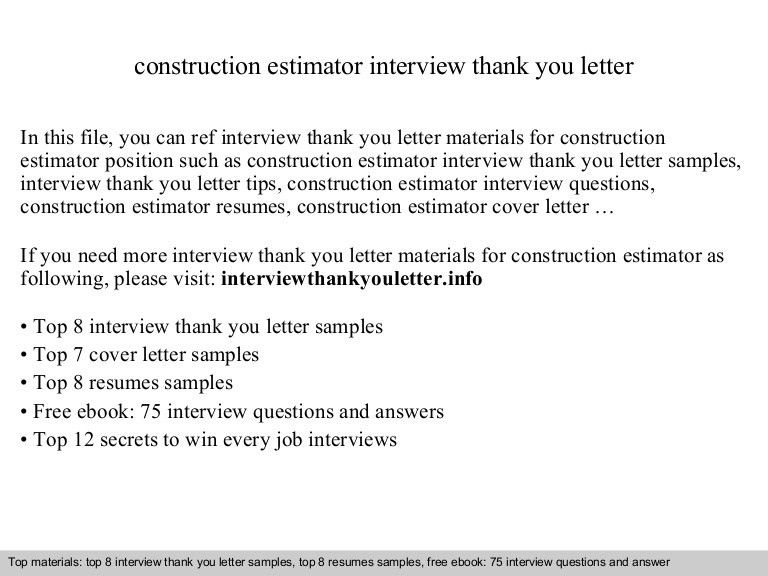 High Quality ... Construction Estimator Resumes Free Construction Estimator Resume   Glazing  Estimator Cover Letter ...