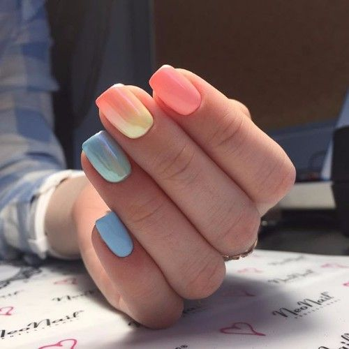 Top 50 Trendy Nails Fashionable Colors & Nail Art Ideas – Fashonails