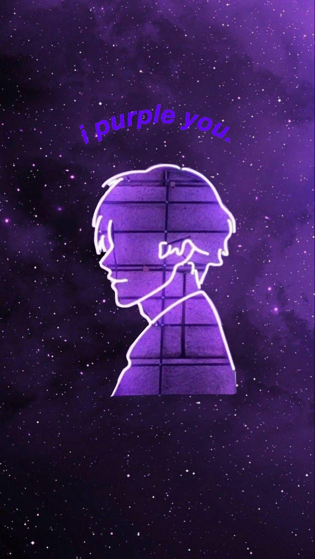 I Purple You Kim Taehyung Bts wallpaper i purple you