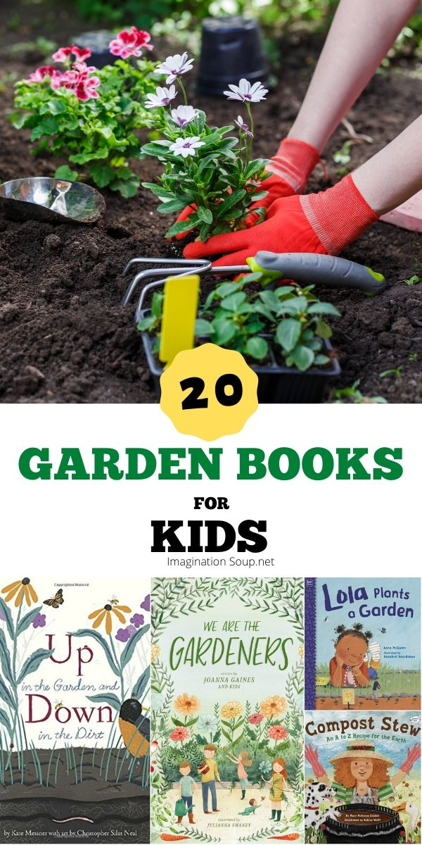 Wonderful Gardening Picture Books for Kids