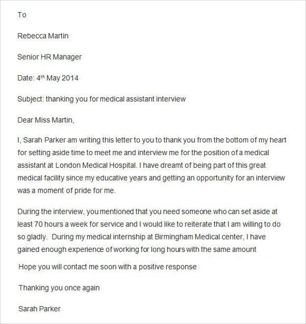 Medical Assistant Manager Certified Medical Assistant Resume - medical assistant thank you letter