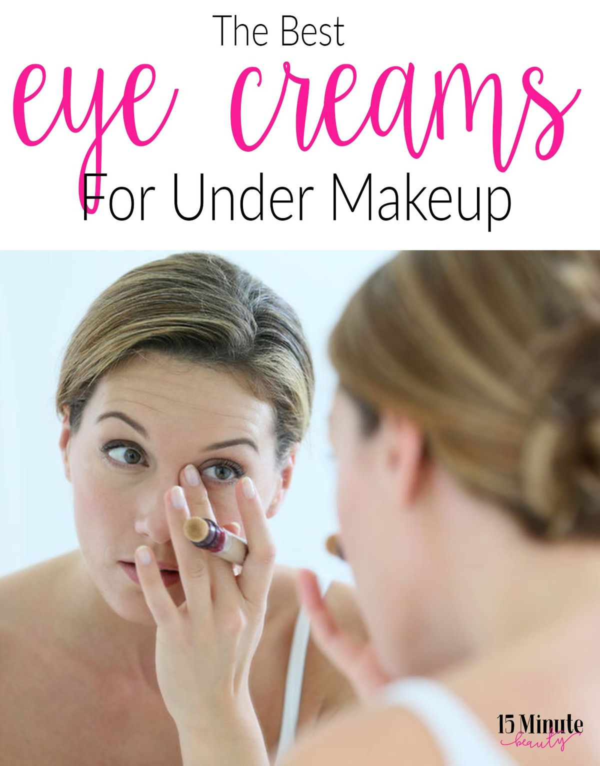 Using a good eye cream is key to prevent aging, but what one do you use under your concealer each day? Here are my favorite eye creams to prep for makeup.