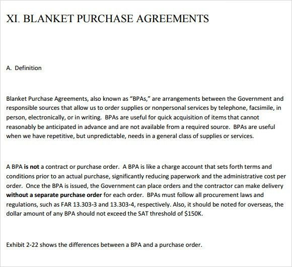 Purchase Order Contract Template Sample Purchase Order Form 10 - sample stock purchase agreement example