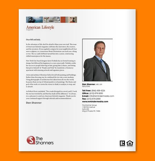 Real Estate Introduction Letter] Real Estate Letters