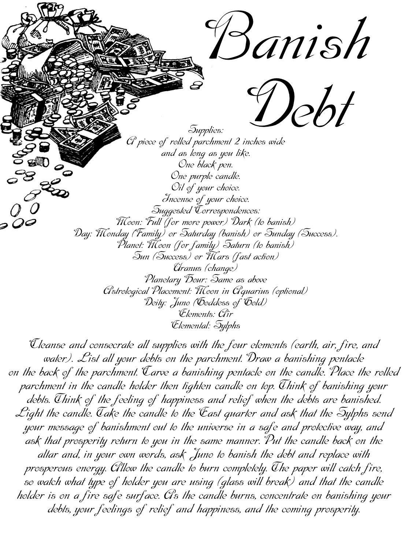 Witch Spell Money  Via Mystikal Witchy  Crafts