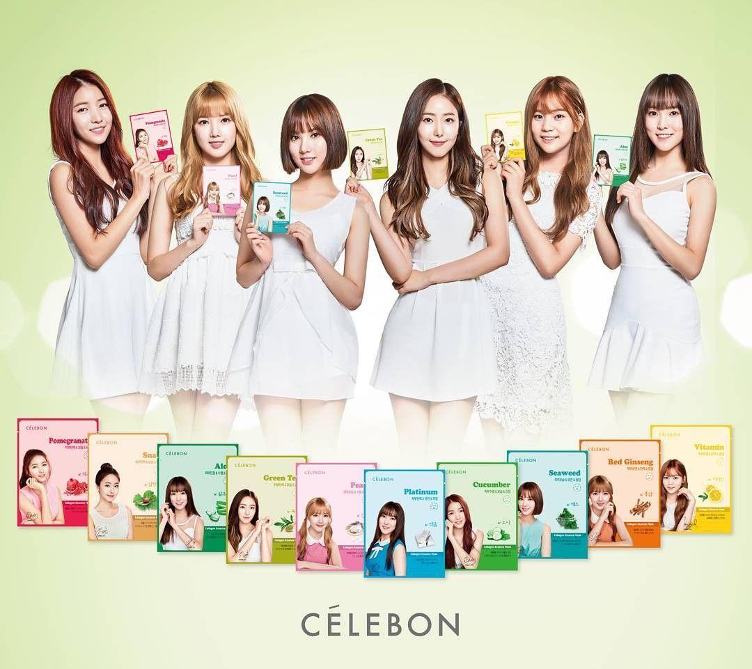 GFRIEND as CÉLEBON Brand Ambassador