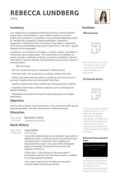 Free Resume Editor | Resume Cv Cover Letter