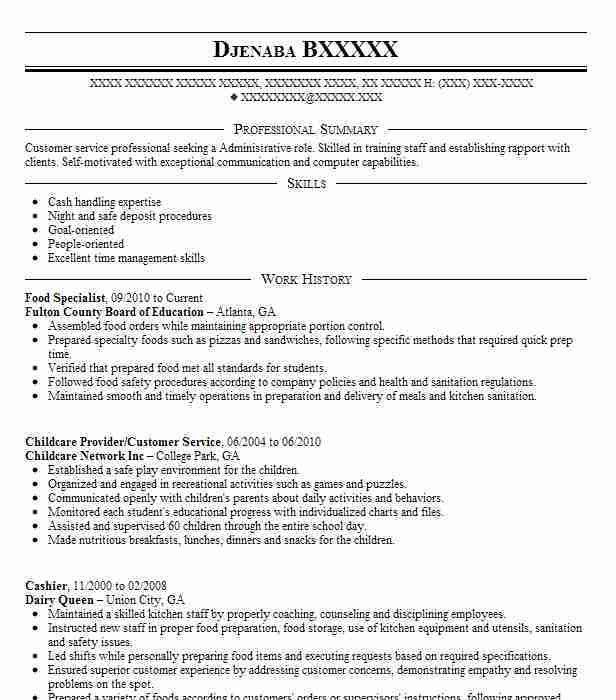 Warehouse Specialist Resume Warehouse Specialist Resume 22 - employment specialist resume