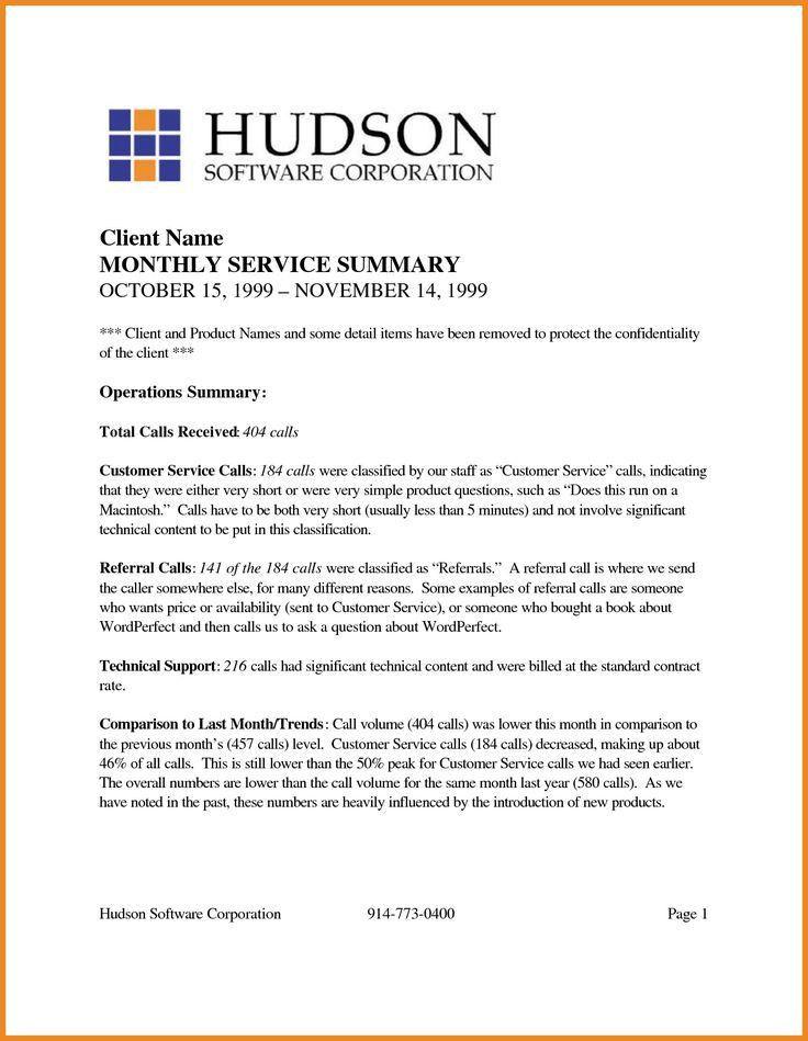 Executive Summary Report Template it executive summary template - contract summary template