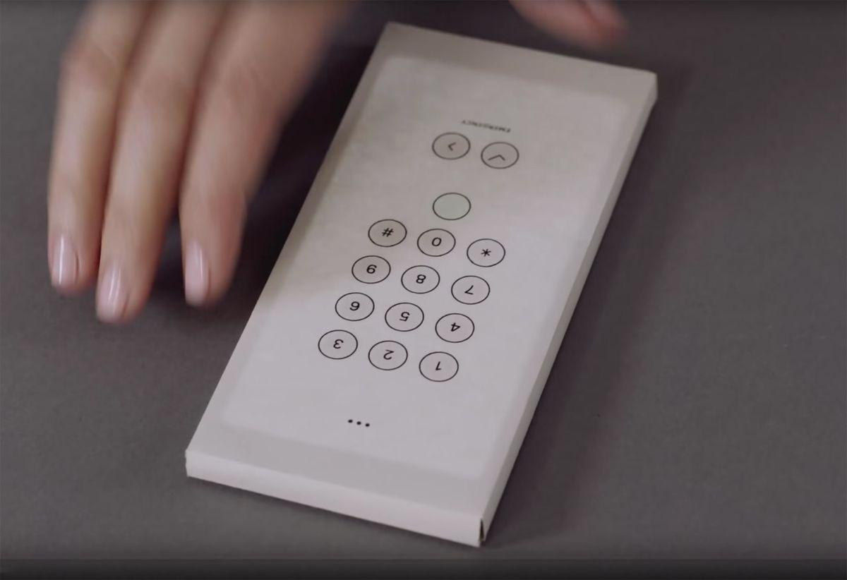 Google's Experimental 'Envelope' Quiets Down Distractions - Design Milk