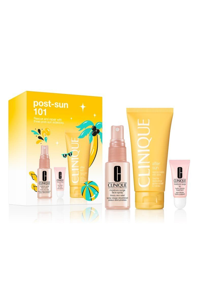 What it is: A three-piece rescue set featuring products that help relieve and replenish your skin after you've spent too much time in the sun.