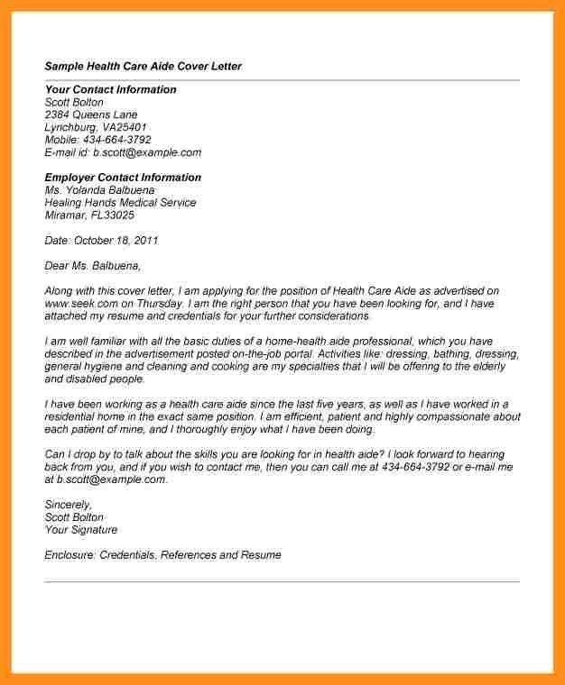 Companion Aide Cover Letter Env1198748resumecloud