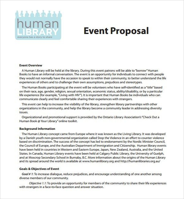 How To Write An Event Proposal Craft A Perfect Event Proposal - event proposal letter