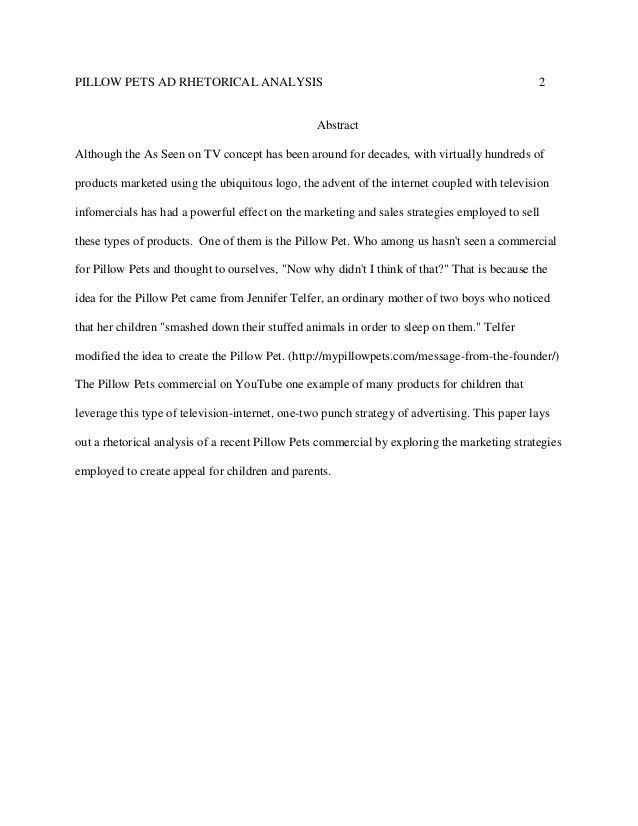 Rhetorical Analysis Sample Paper Sample Rhetorical Analysis