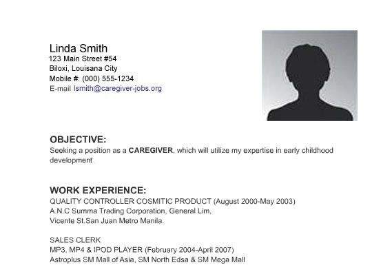 Sample Resume Job Best Resume Examples For Your Job Search - sample resume with no work experience
