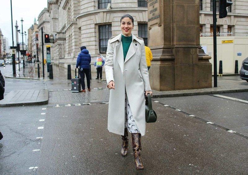 Best London Fashion Week Street Style: Caroline Issa