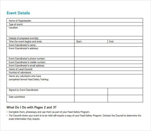 Event Manual Template Event Management Guide Create Your Own - safety manual template