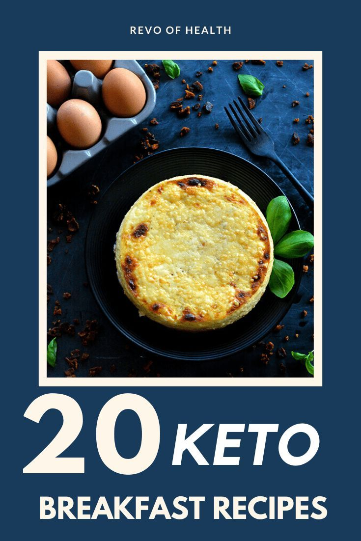 20 Keto Breakfast Recipes That'll Keep You Energized