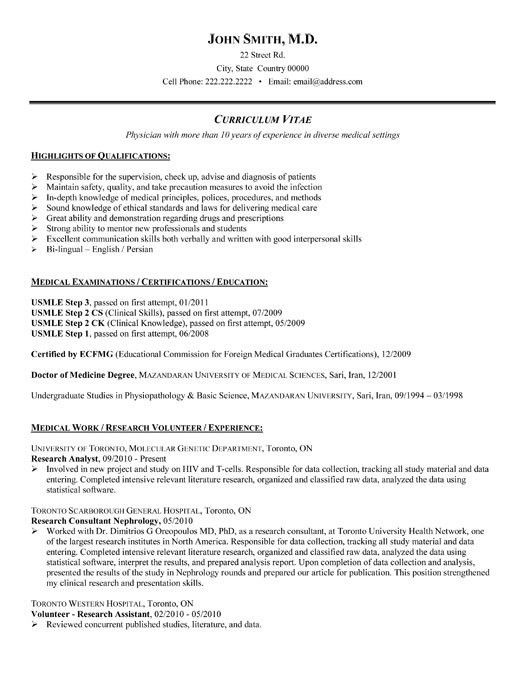 Research Resume Samples Researcher Cv Template Job Description - research analyst job description