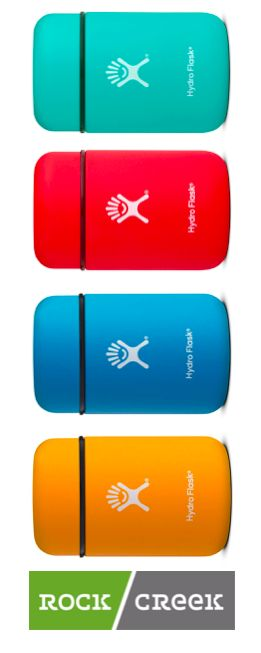 The Hydro Flask 12oz Food Flask is perfect for on-the-go snacks.