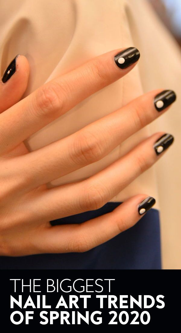 The biggest nail art trends of spring 2020. | #nails #nailart #manicure #nailtrends #manicureideas