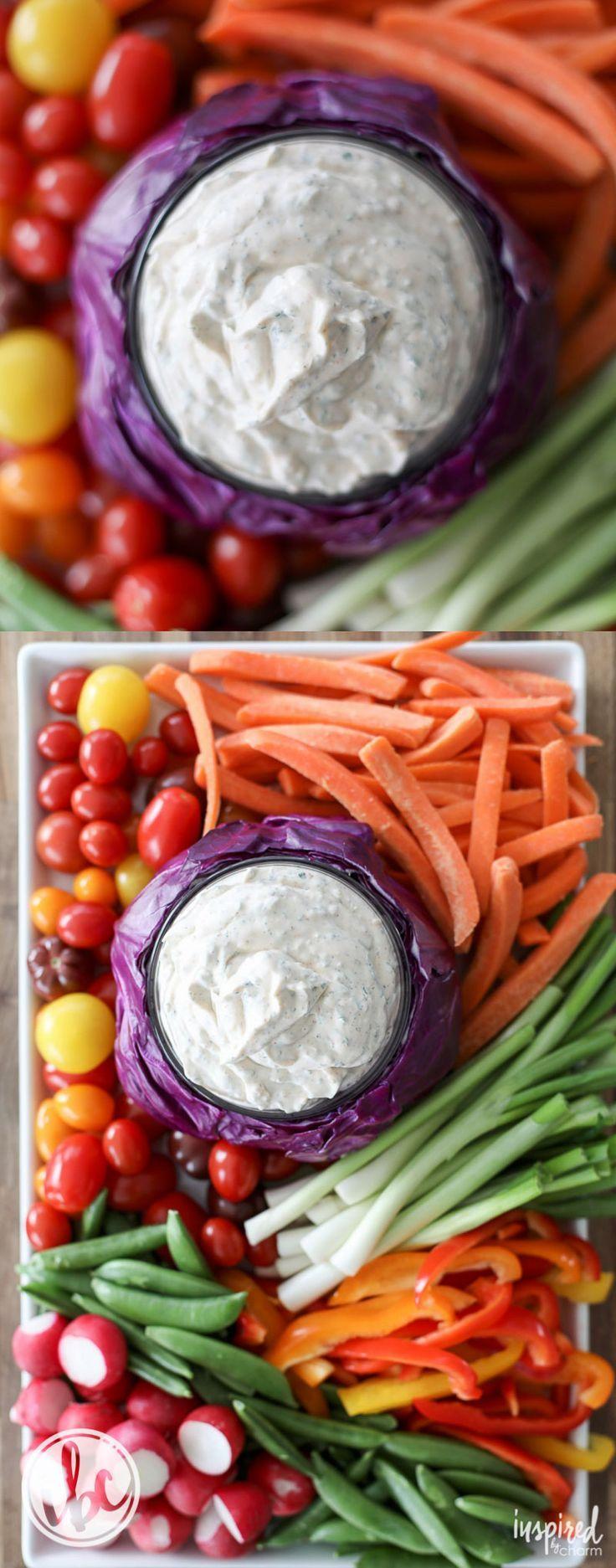 Really Good Veggie Dip - The BEST Vegetable Dip Recipe