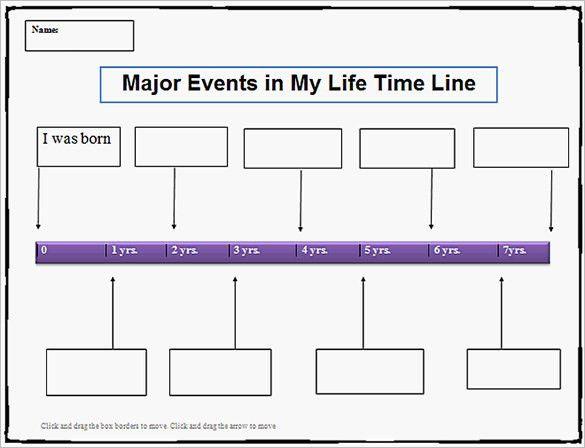 Timeline Template Word Timeline Template 61 Free Word Excel Pdf - simple timeline template