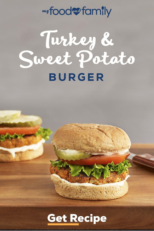 Turkey-and-Sweet Potato Burger