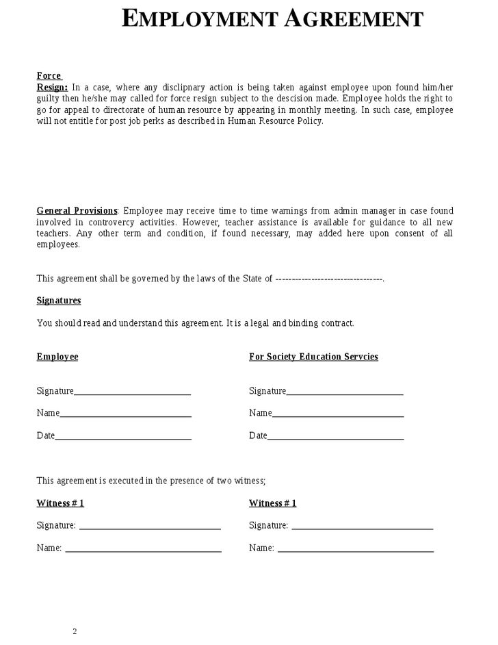 Employee Training Contract Sample Training Contract Template - job agreement contract