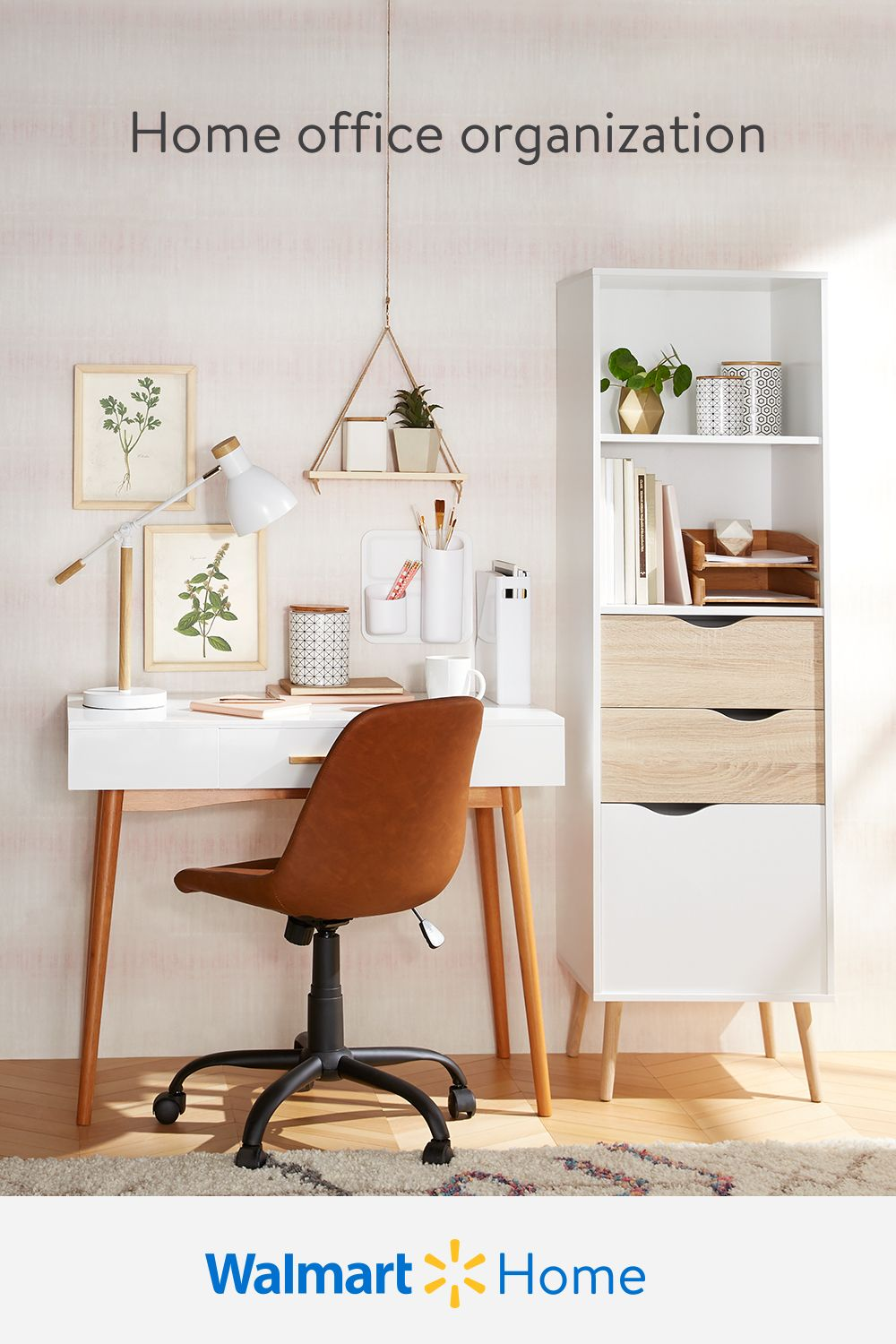 Get ready for a productive new year with easy home office organization essentials. Shop Walmart for affordable furniture, desk accessories, stylish storage, & more for your work-at-home zone.