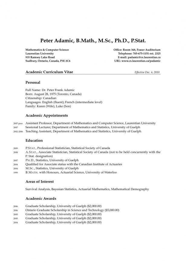 actuarial science resume
