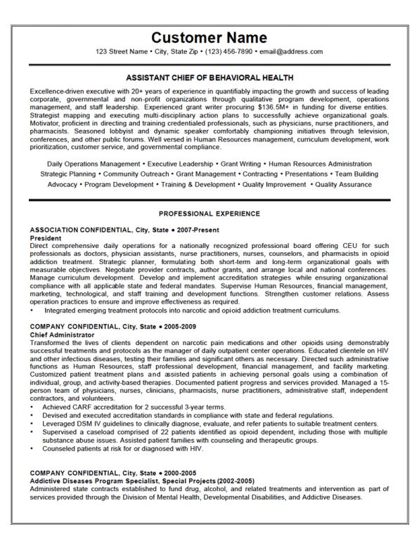 Behavioral Specialist Sample Resume oakandale - mental health specialist sample resume