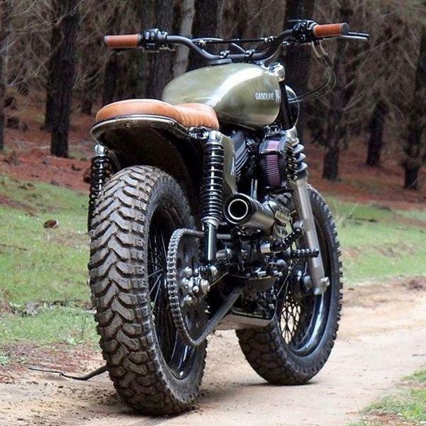 Street Tracker Motorcycle Inspiration 67