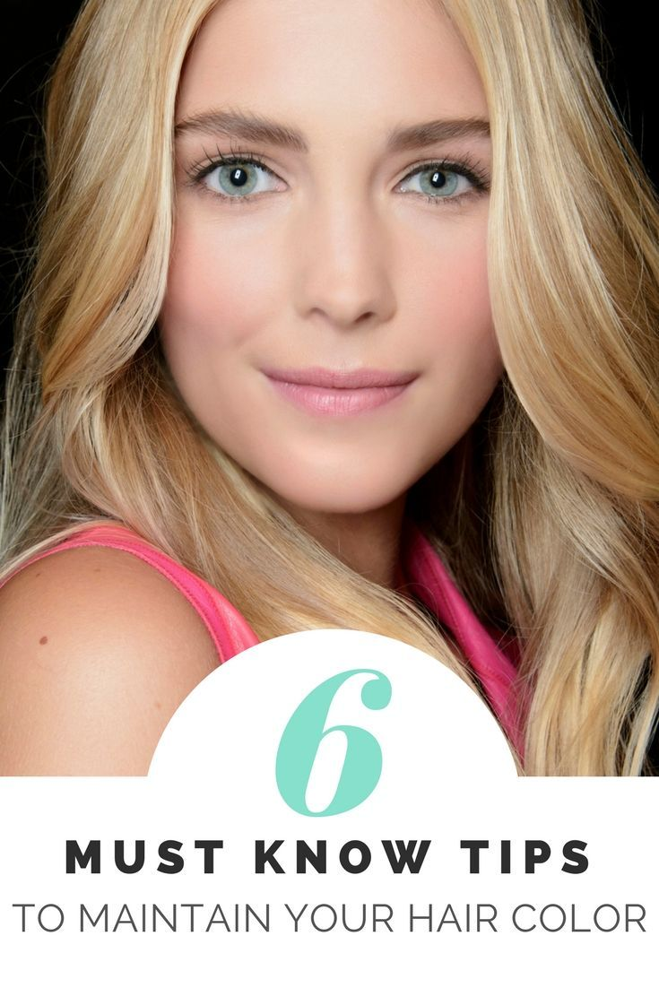 Great tips and products to maintain your hair color and prevent fading! I also hate when my color goes brassy or the pool turns my hair green. Here's how to fix that at home!