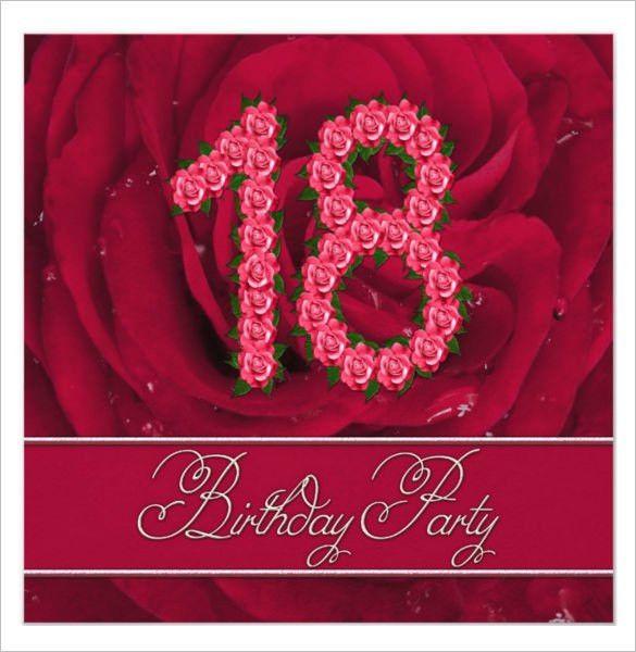 18th Invitation Templates 40th Birthday Ideas Birthday Invitation - free 18th birthday invitation templates