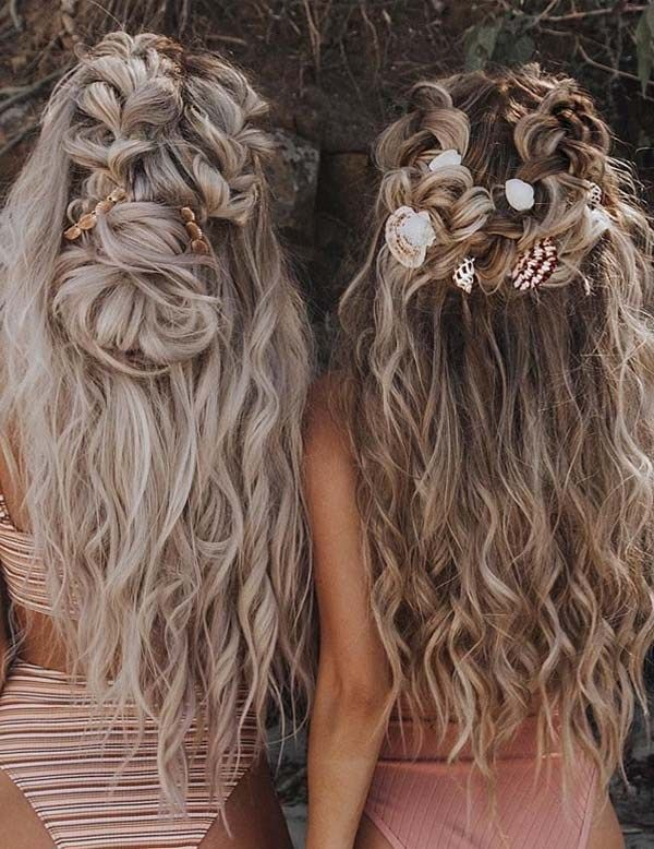 Romantic Wedding Bridal Hairstyles for Long Hair in 2019 | Stylezco