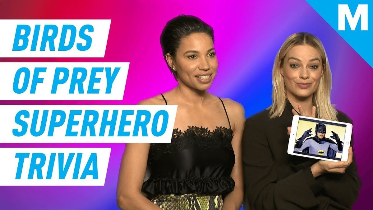 Margot Robbie and Jurnee Smollett Play Superhero Trivia   Know Your Role